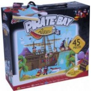 Puzzle de podea - Calatoria piratilor - 45 piese