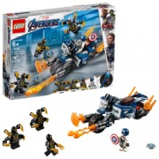 LEGO and reg Super Heroes - Captain America Atacul Outriderilor 76123