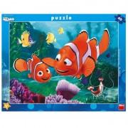 Puzzle Aventurile lui Nemo Dino Toys, 40 piese, 3 ani+