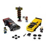 Lego Dodge Challenger SRT Demon de 2018 y Dodge Charger R/T de 1970