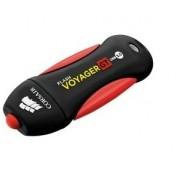 Memoria USB Corsair Flash Voyager GT, 256GB, USB 3.0, Negro/Rojo