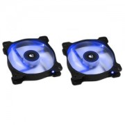 Ventilator 120 mm Corsair SP120 Blue LED Twin Pack