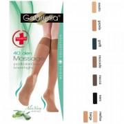 Ciorapi trei sferturi Gabriella Medica Knee-High cu Aloe Vera 40 DEN 503