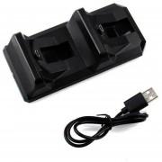 ER Dual USB Estación De Carga Del Muelle Del Soporte Para Playstation 4 Controlador De Juego PS4.