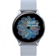 Samsung Galaxy Watch Active2 (WiFi, 4GB, 44mm, Stainless Steel, Silver, Special Import)