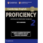 Cambridge English Proficiency 2 Student's Book with Answers: Authentic Examination Papers from Cambridge English Language Assessment, Paperback