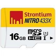Strontium Nitro 16GB Class 10 UHS-1 MicroSDHC Card