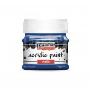 Pentart Matt sötétkék színű akril bázisú hobbi festék 50 ml