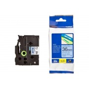 BROTHER TZ Tape, 36mm Black on Blue, Laminated, 8m lenght, for P-Touch (TZE561)