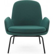 Normann Copenhagen Fotel niski Era na stalowych nogach lakierowane Fame