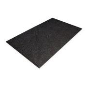 Černá plastová čistící vnitřní vstupní rohož - 180 x 120 x 1 cm (80000465) FLOMAT