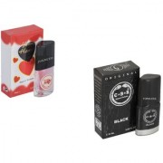 Skyedventures Set of 2 Younge Heart Red 20ml-C.B.R 20ml