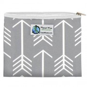Planetwise Inc Planet Wise Zipper Snack Bag (Muster: Aim Twill)
