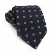 Cravatta seta a quadri MOSCHINO