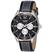 Casio Enticer Analog Black Dial Mens Watch-Mtp-E310L-1A1Vdf (A1178)