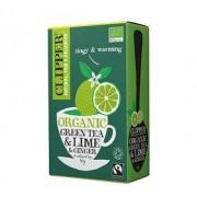Clipper - Organic Green Tea Lime & Ginger (20 st)