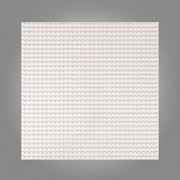 "32 x 32 Dots Off-White 10"" x 10"" Brick Building Base plate Lego Compatible Baseplates"