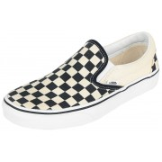 Vans Classic Slip On Checkerboard Sneakers zwart-gebroken wit