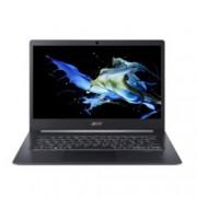 "Лаптоп Acer TravelMate TMX514-51-55C2 (NX.VJ7EX.012)(сив), четириядрен Whiskey Lake Intel Core i7-8565U 1.8/4.6 GHz, 14.0"" (35.56 cm) Full HD Anti-Glare Display, (HDMI), 16GB DDR4, 512GB SSD, 1x USB Type-C, Windows 10 Pro, 0.98 kg"