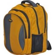 New Era Amaze School bags men 40 L Backpack(Grey, Yellow)