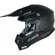 Just1 J39 Solid Motocross hjälm S Svart