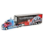 Transformers / Last Knight King 2017 Jada Toys Metals 1/32 Scale Die Cast Vehicle Optimus Prime with Trailer / TRANSFORMERS MOVIE 5 THE LAST KNIGHT JADA TOYS METALS DIE CAST OPTIMUS PRIME WITH TRAILER ?Parallel import goods? TF Overseas Limited Latest Mov