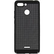 Protectie spate Senno Rock Slim Air Plastic pentru OnePlus 5T (Negru)