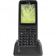 doro 5516 Senior mobilni telefon Stanica za punjenje, SOS ključ Grafitna