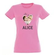 YourSurprise T-shirt - Vrouw - Roze - XL