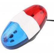 EH Bocina De Bicicleta Con Luces LED 4 Sonidos XC-325B
