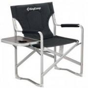 Сгъваем къмпинг стол със странична маса KING CAMP, MAS-KC3821