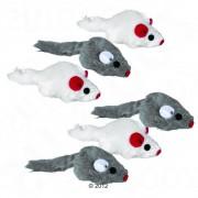 Set de 6 ratones de juguete para gatos - Aprox. 5 cm (6 unidades)