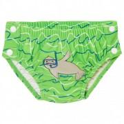 Playshoes Kid`s UV-Schutz Windelhose Robbe Zum Knöpfen Pantaloncino da bagno (62/68, verde)