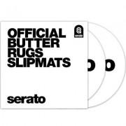 """Serato Butter Rugs 12"""""""" Slipmat White"""