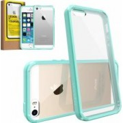 Skin Ringke Eco Fusion iPhone 5 5S Mint + Folie