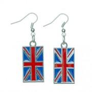 Brit zászlós fülbevaló