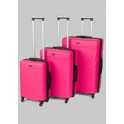 Constellation Hard Shell Suitcase, Pink