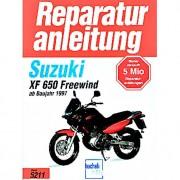 Motorbuch-Verlag Reparaturanleitung Bucheli Suzuki XF 650 Freewind