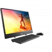 Sistem All in One Dell Inspiron 3477 23.8 inch FHD Intel Core i5-7200U 8GB DDR4 1TB HDD 128GB SSD Windows 10 Home Black 3Yr CIS