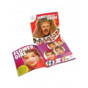 Vegaoo Inspirationsbok med ansiktsmålningar One-size