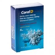 CoralD - Coral Calciu + D3, 30cps, Vitacare