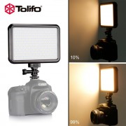 Tolifo PT-F300B 30W LED Camera Camcorder Video Light Panel for Lighting in Studio or Outdoors 3200K to 5600K Bi-Color Temperature - Lampa bi-colora