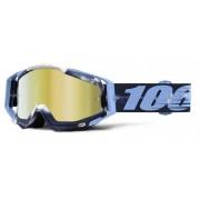 100% Racecraft Extra Motocross glasögon en storlek Blå