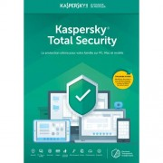 Kaspersky Total Security 2019 2 Appareils 1 An