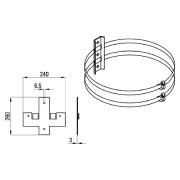 MB3 - Mastbefestigung f.TL230 MB3