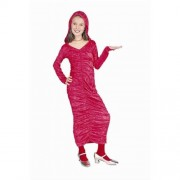 Rg Costumes 91297-M Red Gothic Dress With Hood Costume - Size Child-Medium