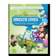 Educatie civica. Manual pentru clasa a IV-a sem I+sem II contine editie digitala Tudora Pitila