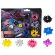 You2Toys [6 Pack] Cock Ring Set 0514667