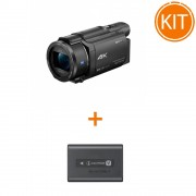 Kit Sony Handycam FDR-AX53 + Sony Acumulator original NP-FV70A