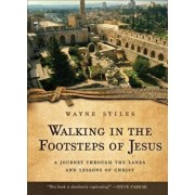 Walking in the Footsteps of Jesus: A Journey Through the Lands and Lessons of Christ, Paperback/Wayne Stiles
